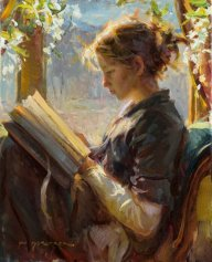reading-painting