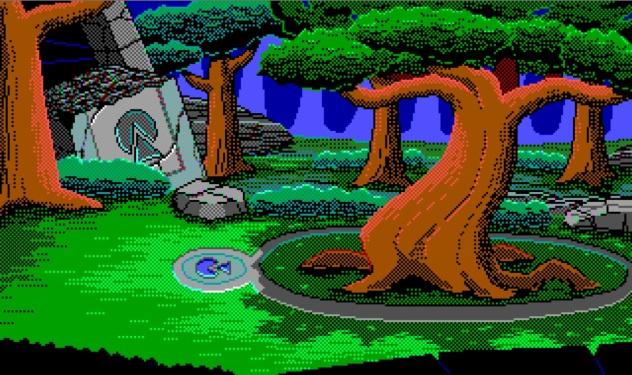 Temple Ruins Tree